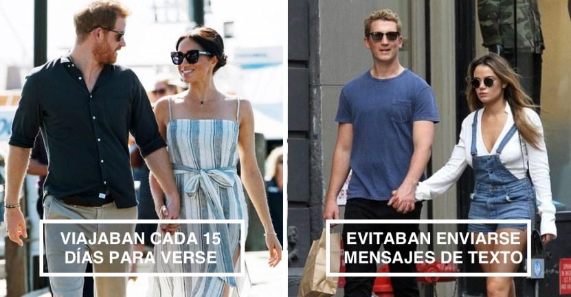 distancia amor - 12 parejas de famosos que se las ingeniaron para mantener vivo el amor mientras estaban lejos