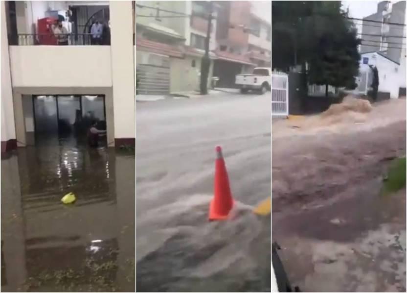 inundacion tlalnepantla atizapan edomex - Video: Checa las tremendas inundaciones que provocó la lluvia en el Edomex