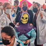 whatsapp image 2021 07 22 at 3 44 58 pm crop1626986837752.jpg 242310155 - Morelia, captan a Skeletor esperando vacuna contra Covid-19