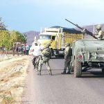 Embosca CJNG a Ejército mexicano con drones - Ejército mexicanos abate a 6 sicarios; pero un soldado muere y otros 2 quedan heridos