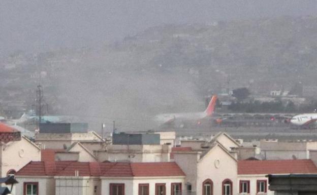 aeropuertoKabul 1 - Proyectil provoca explosión cerca del aeropuerto de Kabul