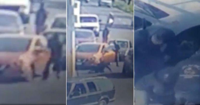 asalto ecatepc - VIDEO: Conductor arrolla a un hombre que trató de asaltar a otro en Ecatepec, Edomex
