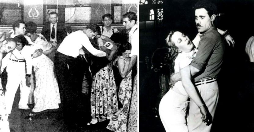 bailes desmayo - Bailaban hasta caer desmayados: Las extrañas maratones de bailes de 1930 que se hacían en EE.UU.