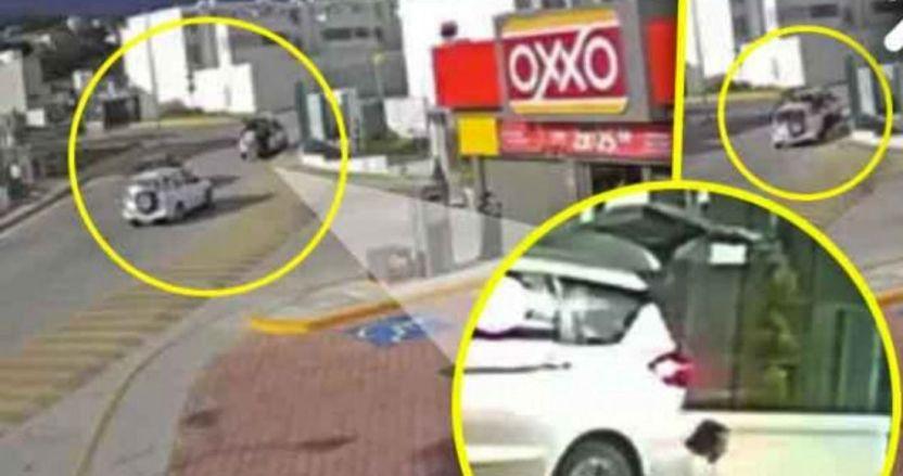 conductor en estado de ebriedad - Se busca a un tipo que atropelló a una pareja de panaderos y huyó. Quedó grabado