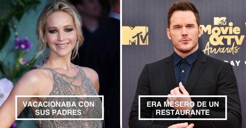 famosos accident - 14 estrellas de Hollywood que se hicieron famosos por accidente