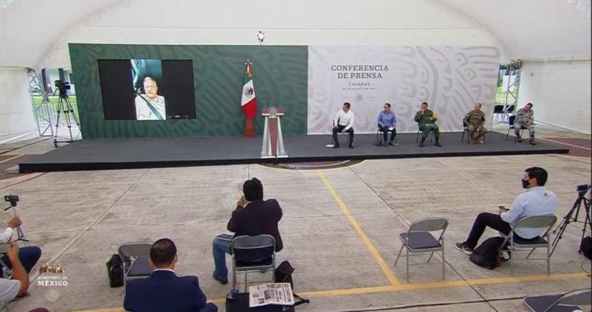 """mensaje de amlo en video en conferencia de prensa del 27 de agosto de 2021 - """"No lo puedo permitir. El Presidente de México no puede ser rehén de nadie"""": AMLO"""