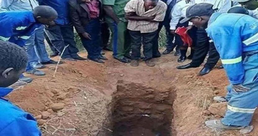 pastor enterrado vivo - VIDEO: Pastor de Zambia se hace enterrar vivo con la promesa de resucitar. Murió