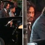 """55 keanureeves johnwick grabacion berlin doble accion matrix - Keanu Reeves fue visto junto a su doble en escenas de """"John Wick 4"""". Una belleza multiplicada por 2"""