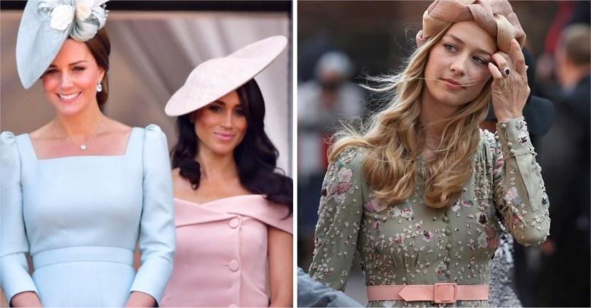 """borromeo - Meghan y Kate ya no son las royals más """"elegantes"""": una modelo italiana les arrebató el título"""