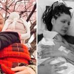 famosos nuevo bebe - 17 fotos de famosos luciendo completamente felices después de recibir a su primer bebé