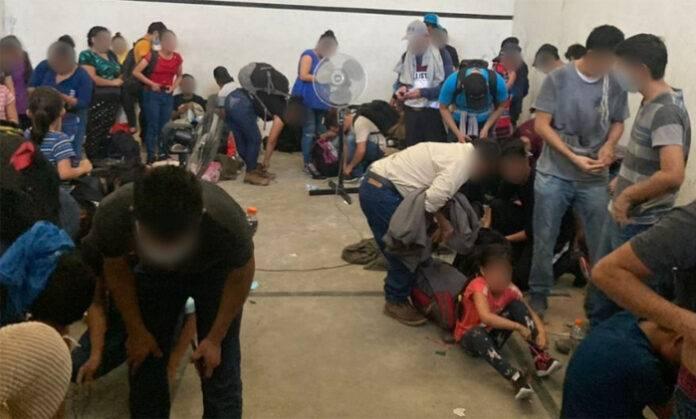 migrantes7 660x400@2x - El INM y la Guardia Nacional encontraron 162 migrantes en una bodega de Tamaulipas