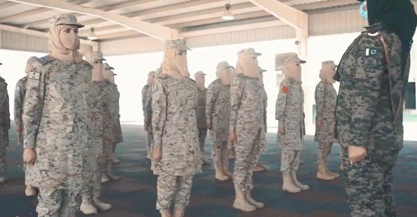 mujeres militares arabia saudita - Arabia Saudita celebró graduación de primera promoción de mujeres militares. Un avance histórico