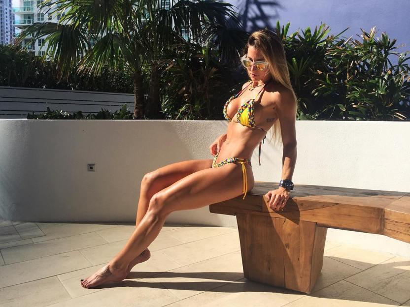 natasha araos elfarandi - Natasha Araos podría estar superando el despecho tras su relación con Chyno Miranda LaPatilla.com