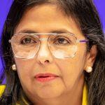 """vicepresidenta venezuela - Colombia está """"aislada en su guerrerismo"""", acusa Vicepresidenta de Venezuela"""
