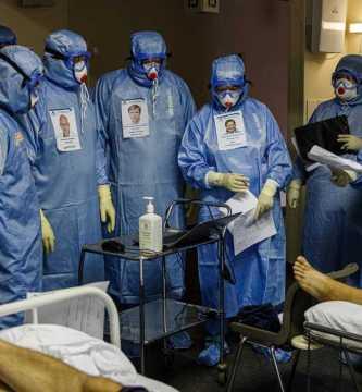LEA63GGHNFBHXG43AFBTGY2A3U - Una pandemia que deja 50 mil muertes a la semana, está lejos de terminar: OMS