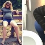 embarazo - 12 fotos que demuestran que el embarazo no es tan genial ni bello como lo hacen parecer