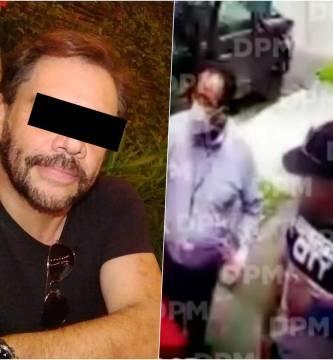 video detencion hector parra - Video: Así fue el arresto del actor Héctor 'N' afuera de su casa