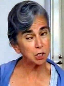 Barbara Spectre, jüdische Aktivistin zur Vernichtung der arischen Rasse.