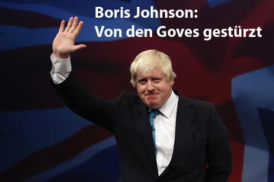 Boris Johnson gestürzt