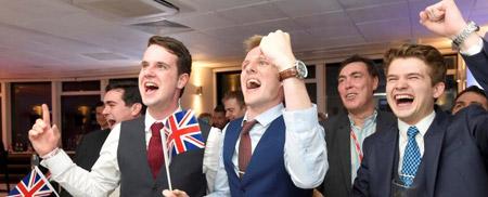 Die authentische Jugend wählte den Brexit