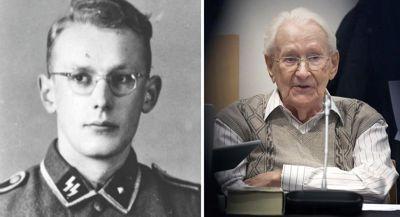 Oskar Gröning 1942 und 2015