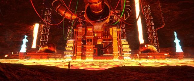 lava lake undertale game hotland machine art