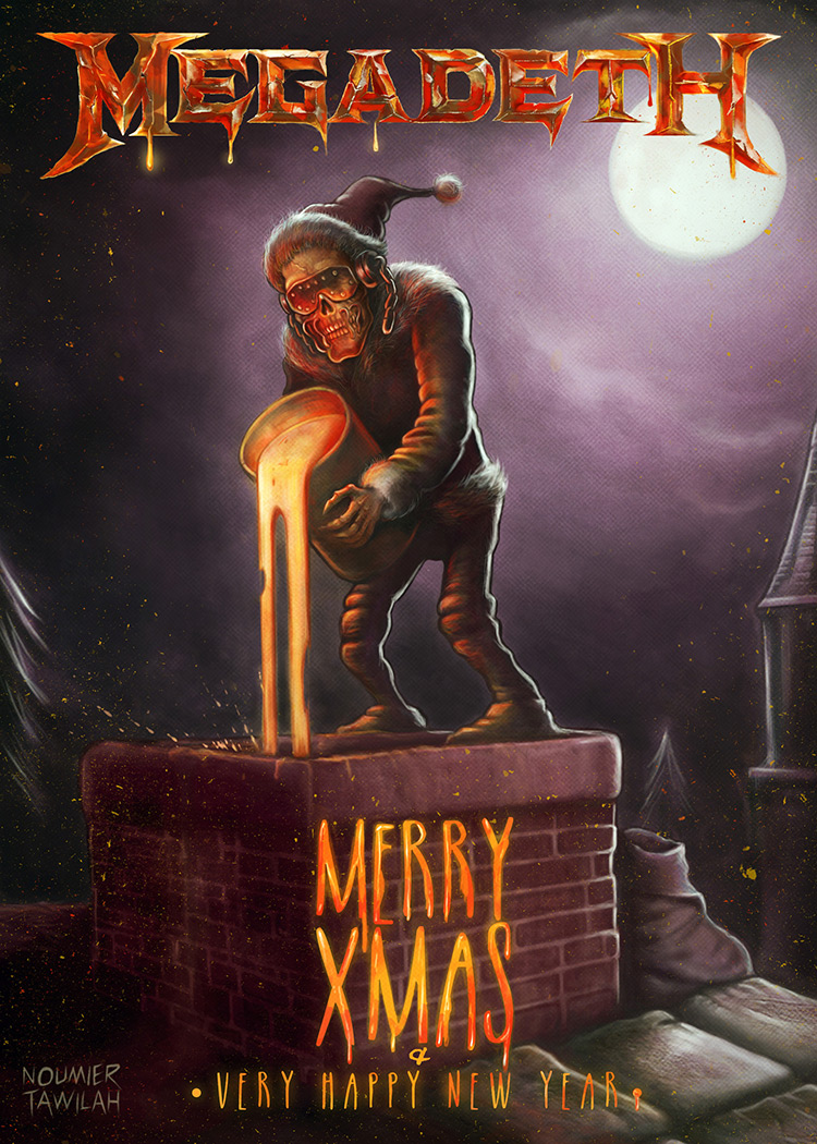 megadeth chimney christmas