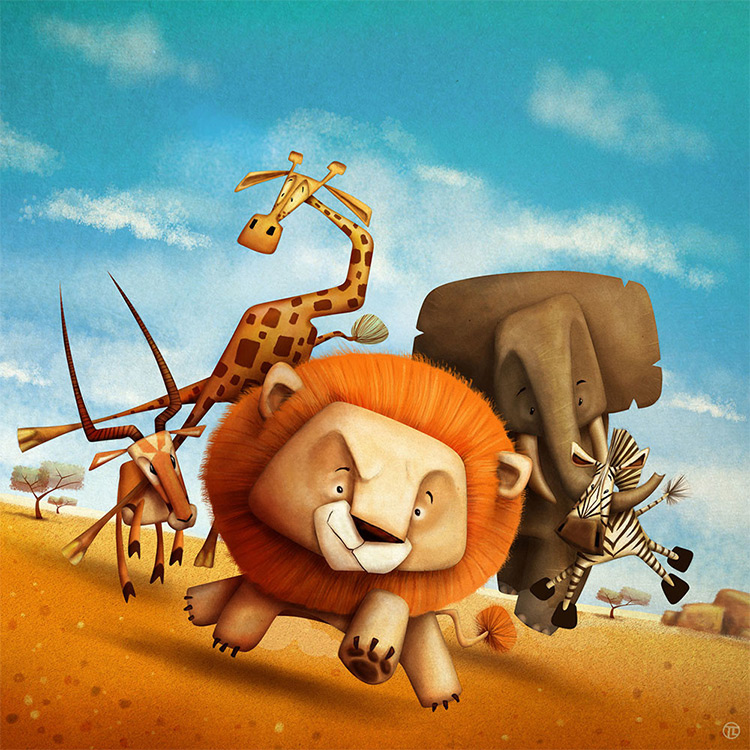 savannah board game cover art