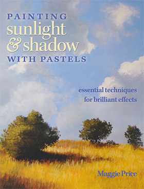 painting sunlight shadow pastels