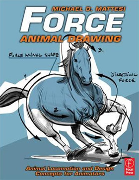 force animal drawing book