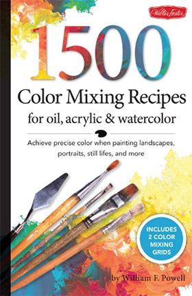 1500 color mixing recipes