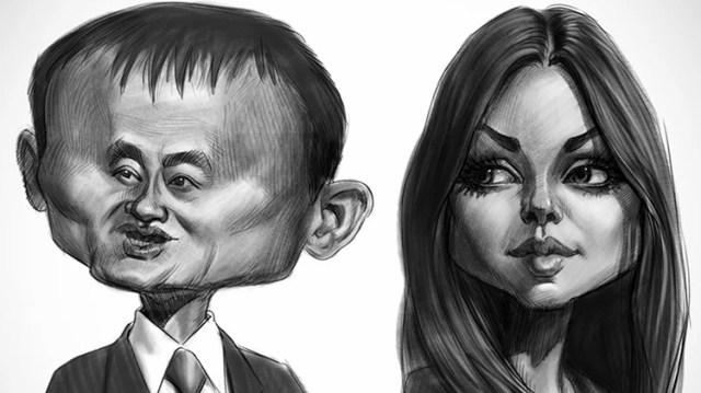 court jones opposing caricatures