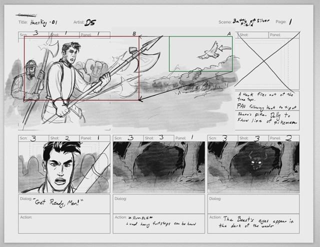 storyboard anatomy