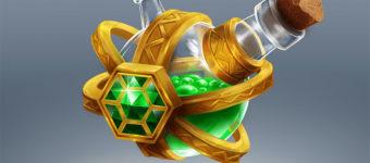 Magic Potions: A Concept Art Prop Design Gallery