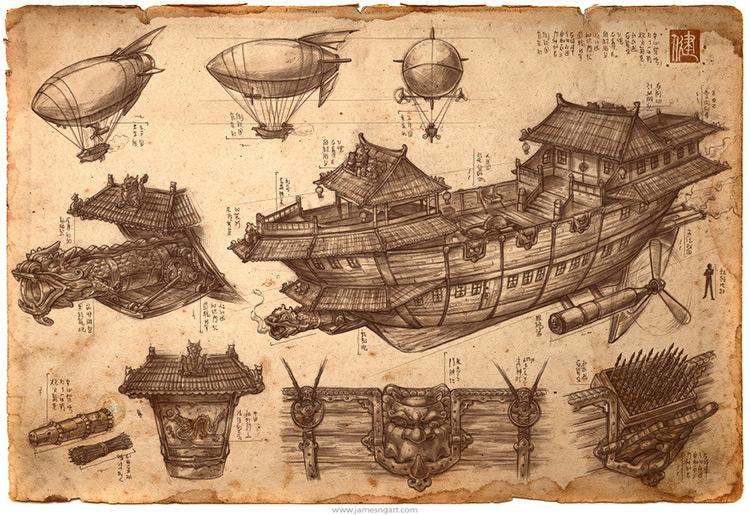 imperial ship convoy artwork