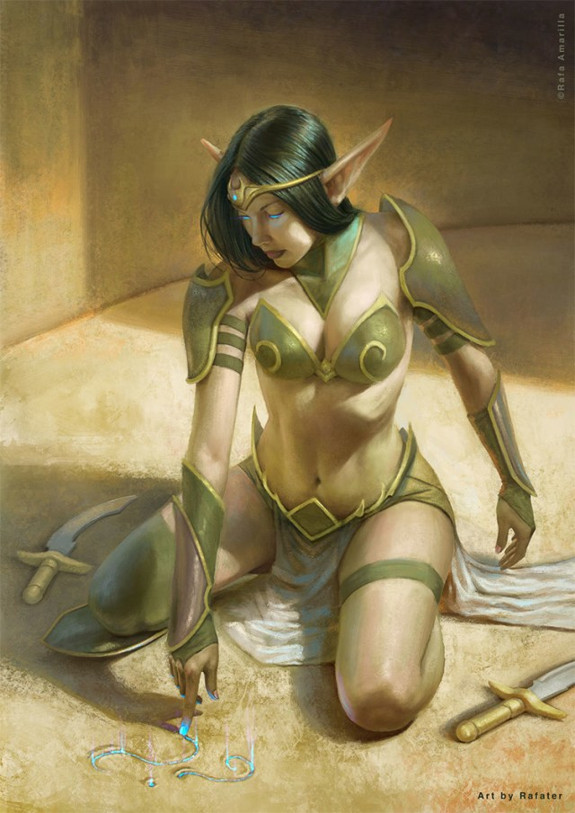 magician elf warrior