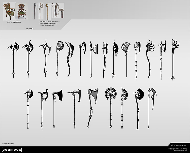 custom axe design ideas