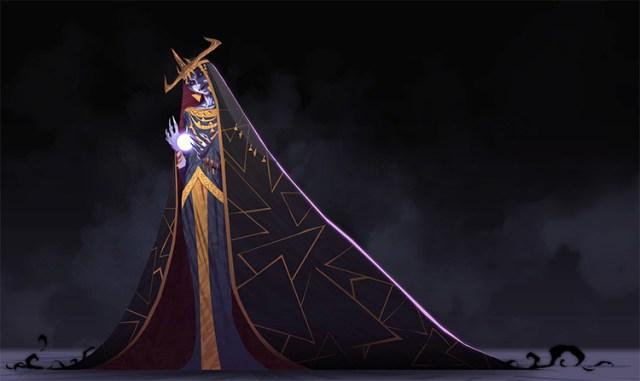 Demon ghost character concept art