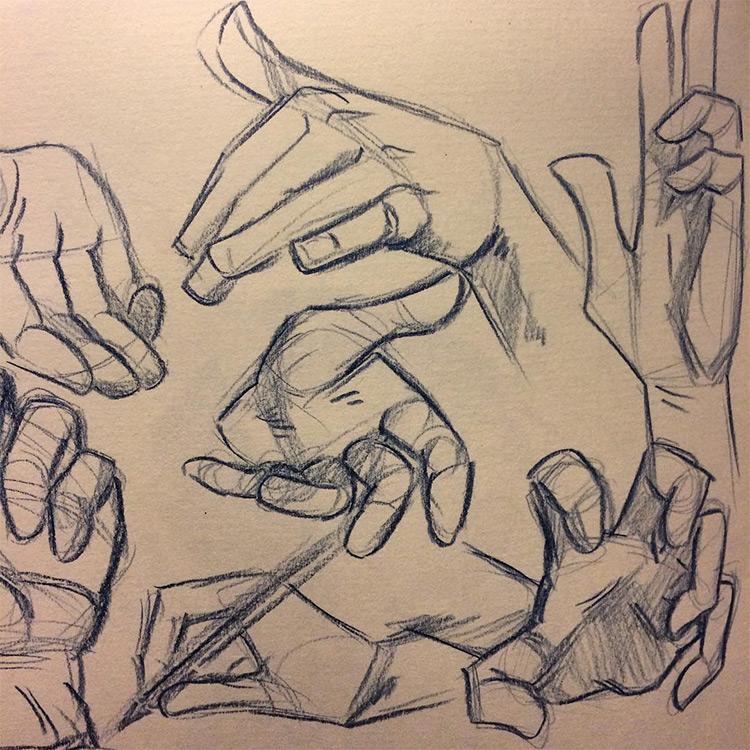 Basic hand practice