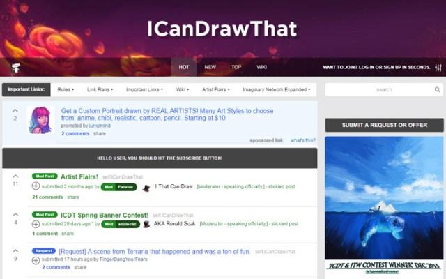 i can draw that subreddit