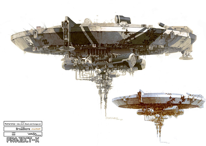 District 9 Concept Art