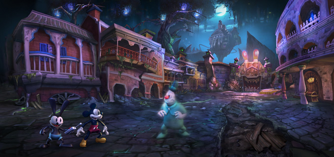 Image result for epic mickey 2 art