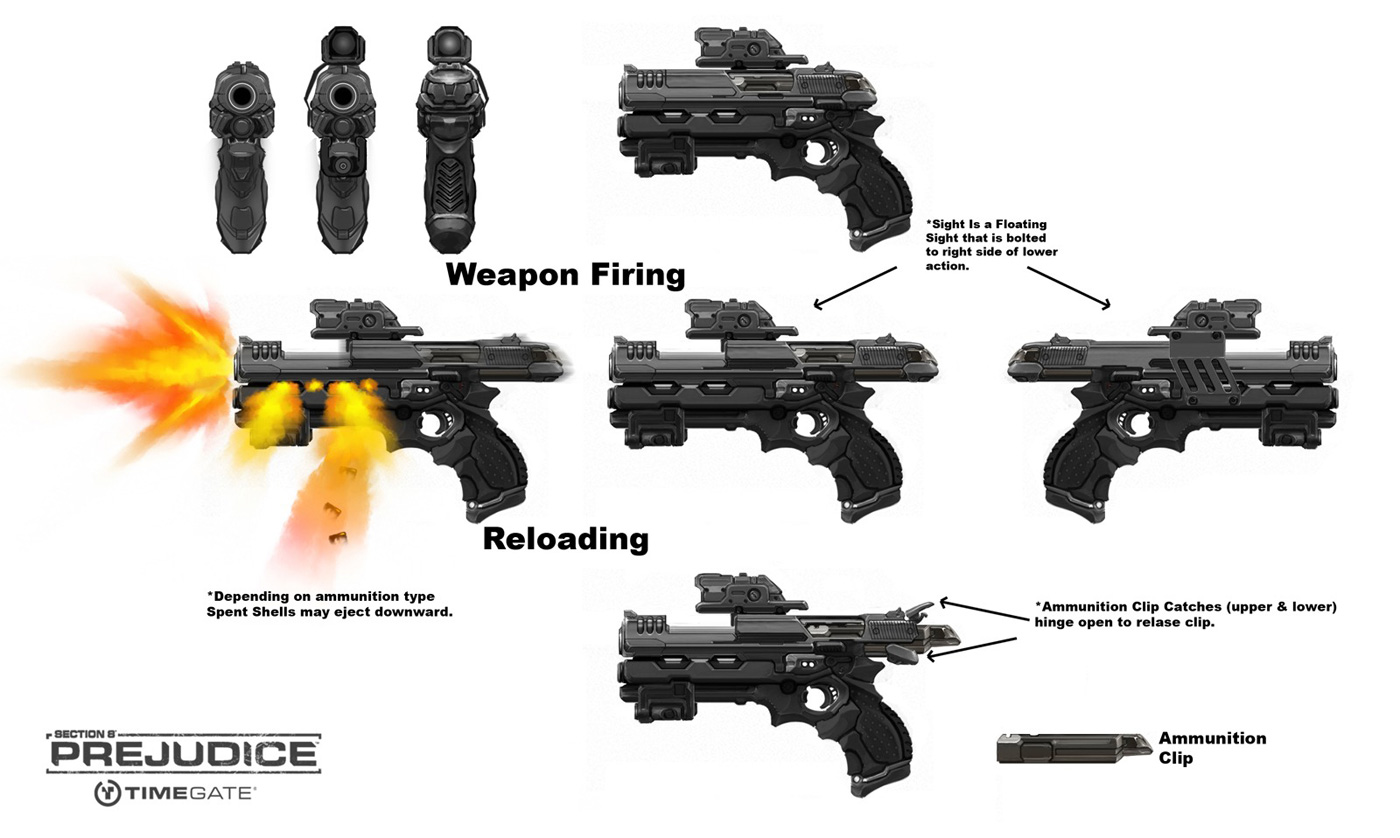 More Popular Weapon Designs More Ergonomic More