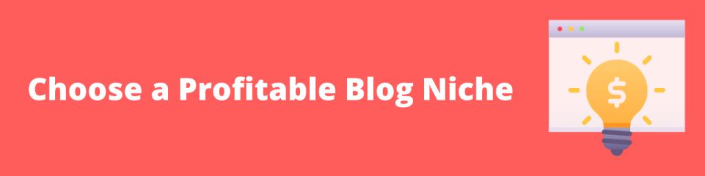 Choose a Profitable Blog Niche