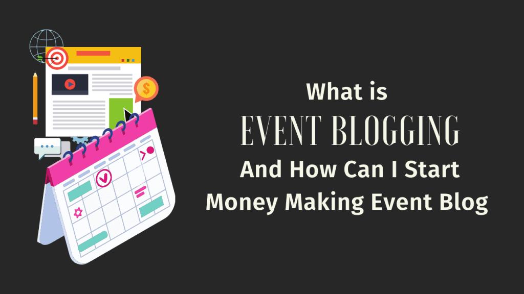 Event Blogging