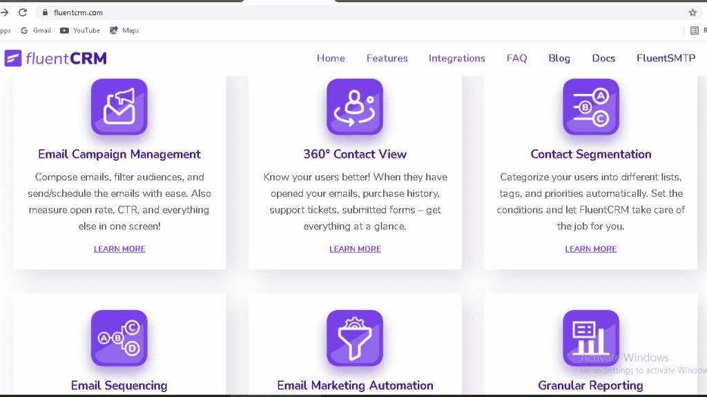 FluentCRM Features