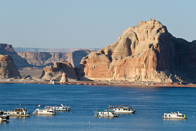 Lake Powell houseboats