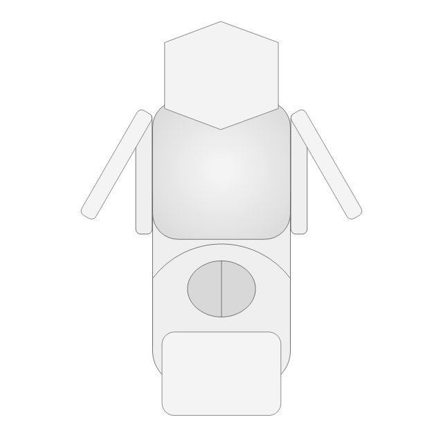 Chair Vector Top View