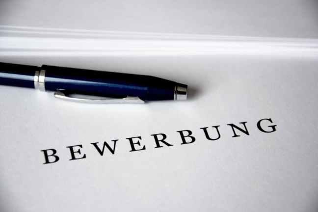 agreement application bewerbung business