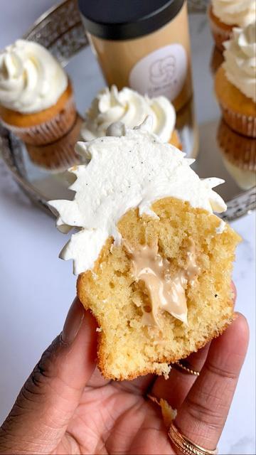 Cupcakes fourrés a la Cream B Noisette
